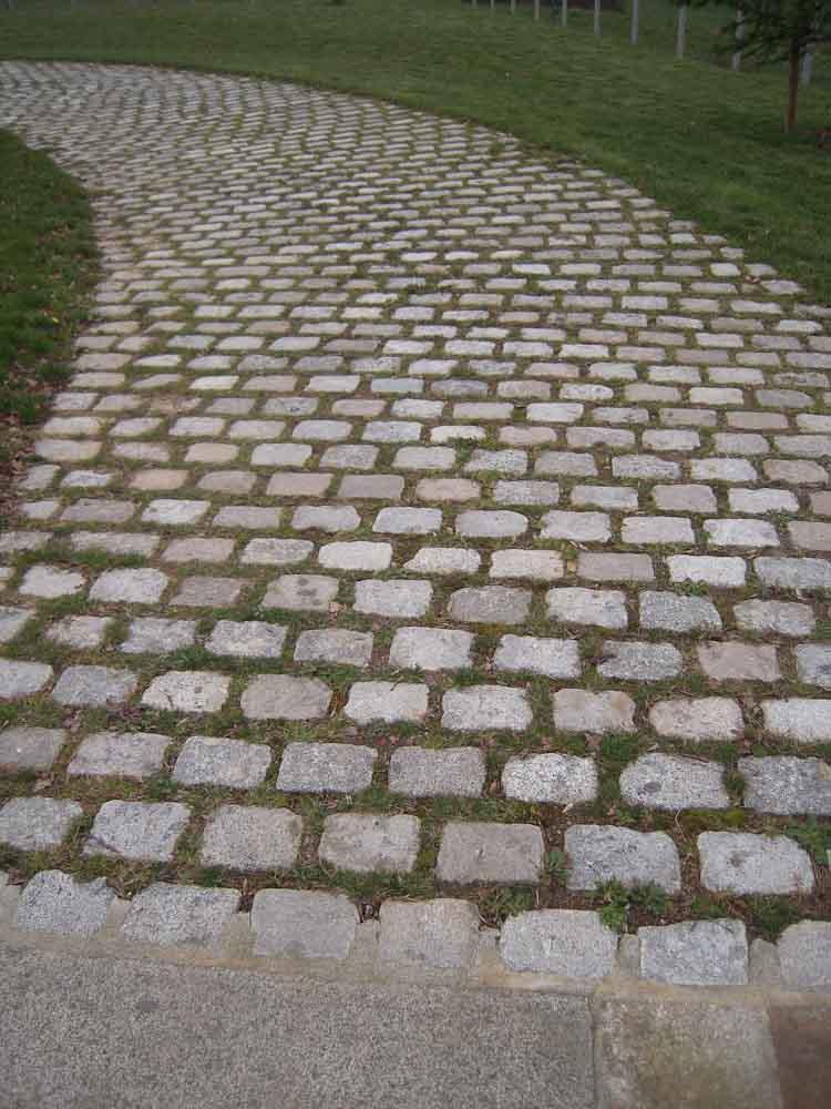 Pavage en granit - Aménagement extérieur